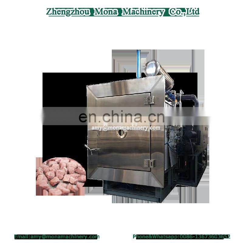 Small noise vacuum freeze dryer for sale/commercial fruit freeze dryer/food freeze drying machine