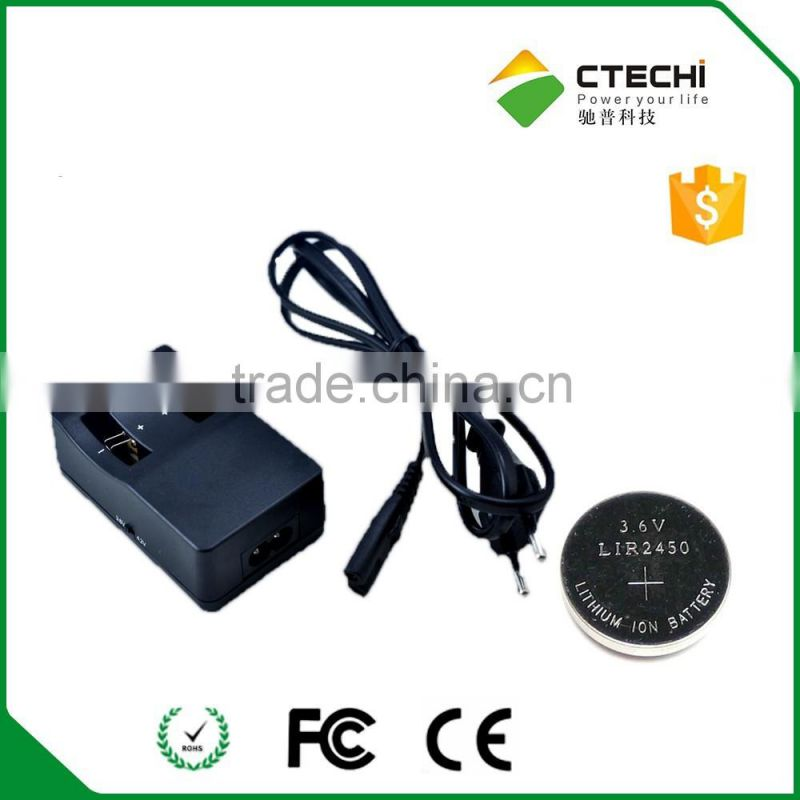 newest Battery charger for LIR2032 battery charger LIR2025 battery charger made in China
