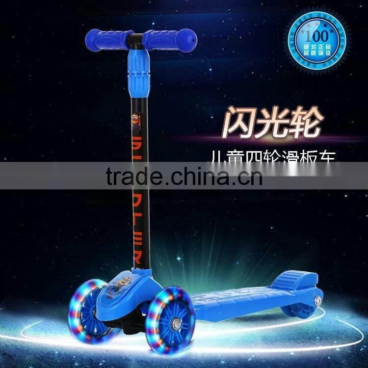 Factory Direct Supply Kids 3 wheel Kick Scooter low price /Push top pro Scooter Kids New Model / Widen Pedal Cheap Kids