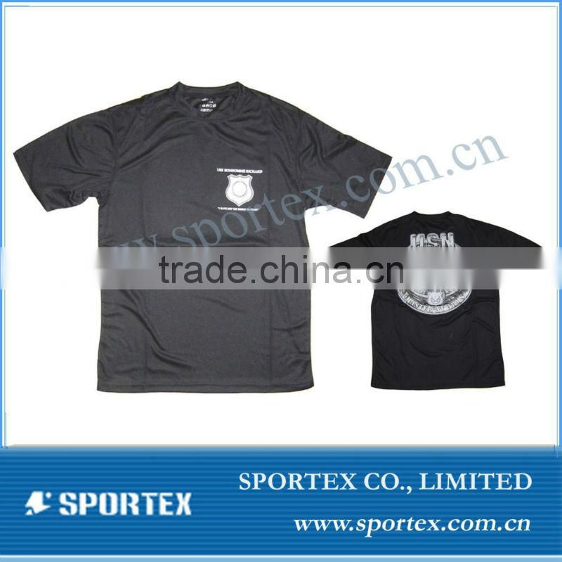 fashion 2013 basic dry fit running t-shirt, OEM High quality running t-shirt for men, promotion mens t-shirt