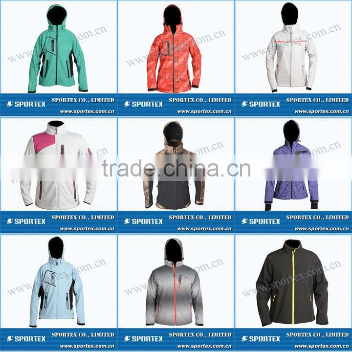 Functional Xiamen Sportex softshell clothes, softshell gear, softshell clothing OEM#YC13054