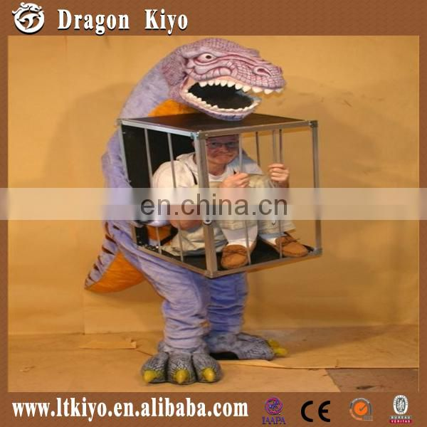 China Popular Dinosaur Costume Puppet