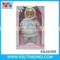 best design 16 inch six sounds IC pee baby doll for sale