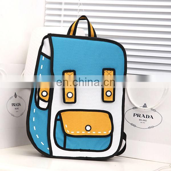 Alibaba China 3d school bag