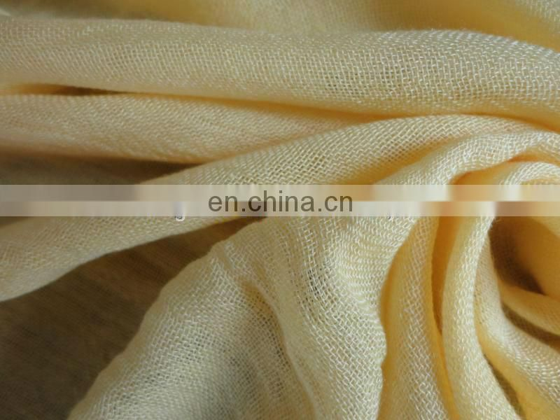 32S plain woven worsted tencel bamboo fiber scarf fabric
