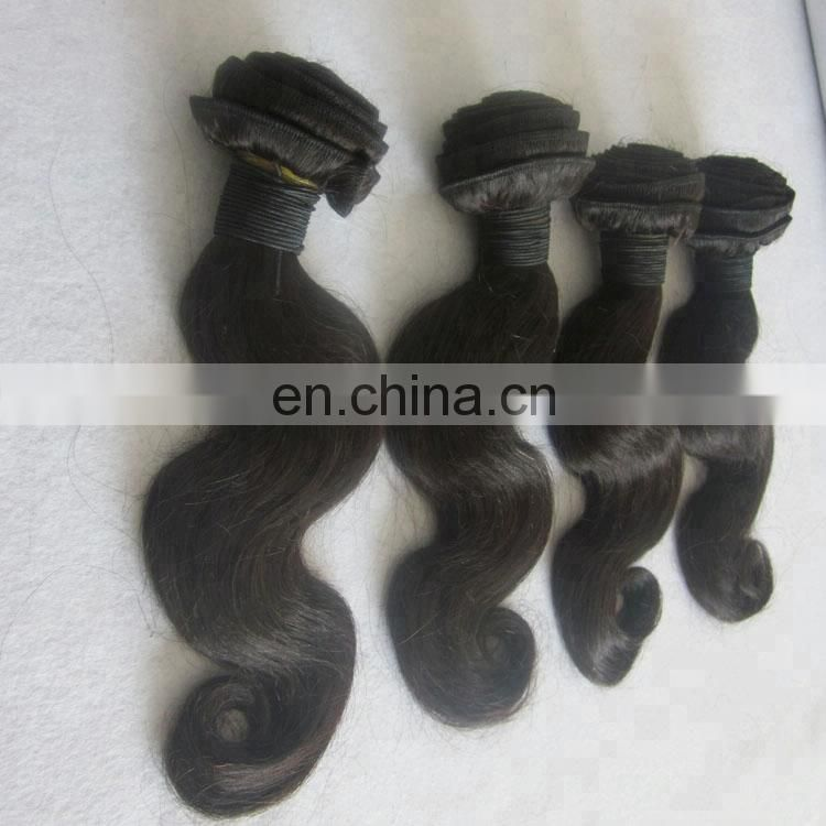 wholesale cheap human hair body wave weave bundles unprocessed hair weft