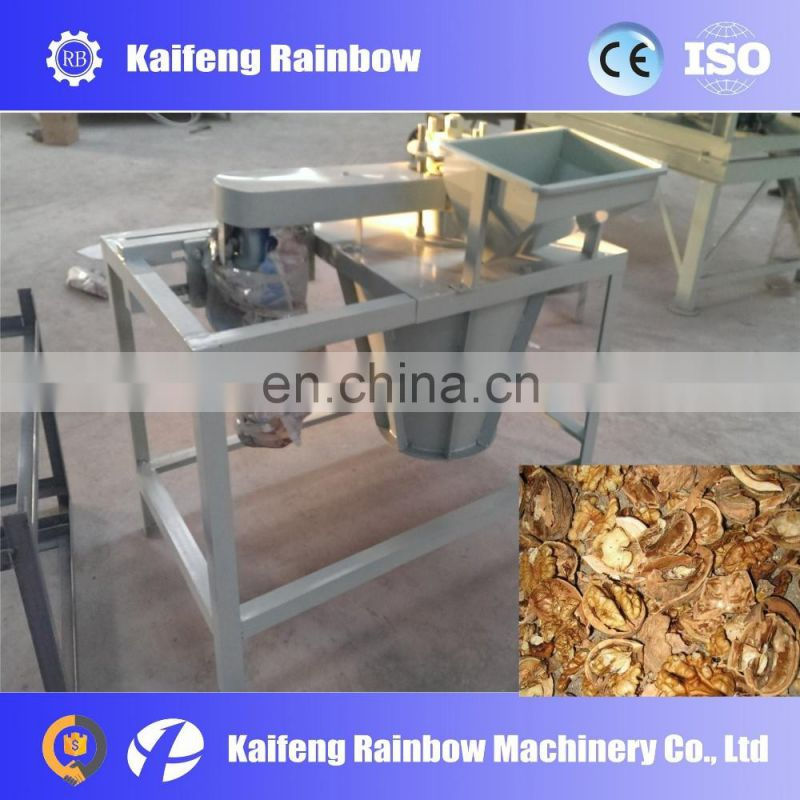 Automatic Electrical  walnut cracker/hot sale walnut cracking machine/Low price walnut ln shell