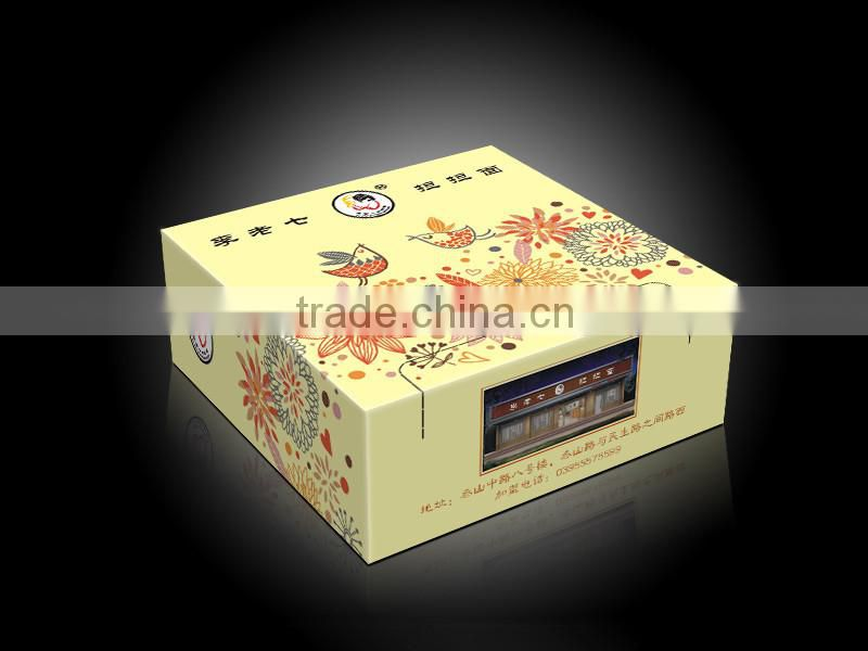 Instant Paper food case Making Machine Price paper box machine
