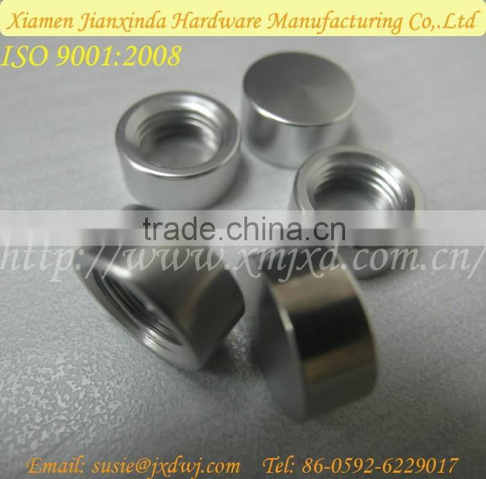 aluminum inner thread small tube
