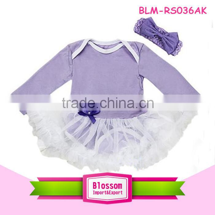 Wholesale hot sale baby romper for Christmas baby tutu romper baby tutu dress romper