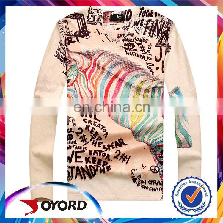 Top 10 t shirt brands wholesale long sleeve sublimation t-shirt