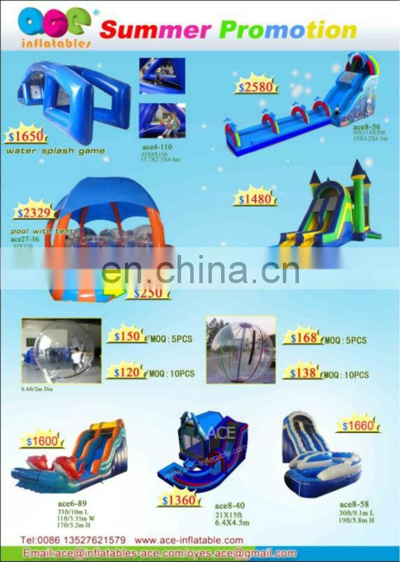 2013 New Inflatable combo with pool