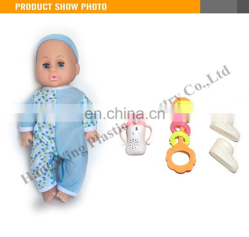 Battery Operated 14 Inches Empty Body Doll Silicone Doll