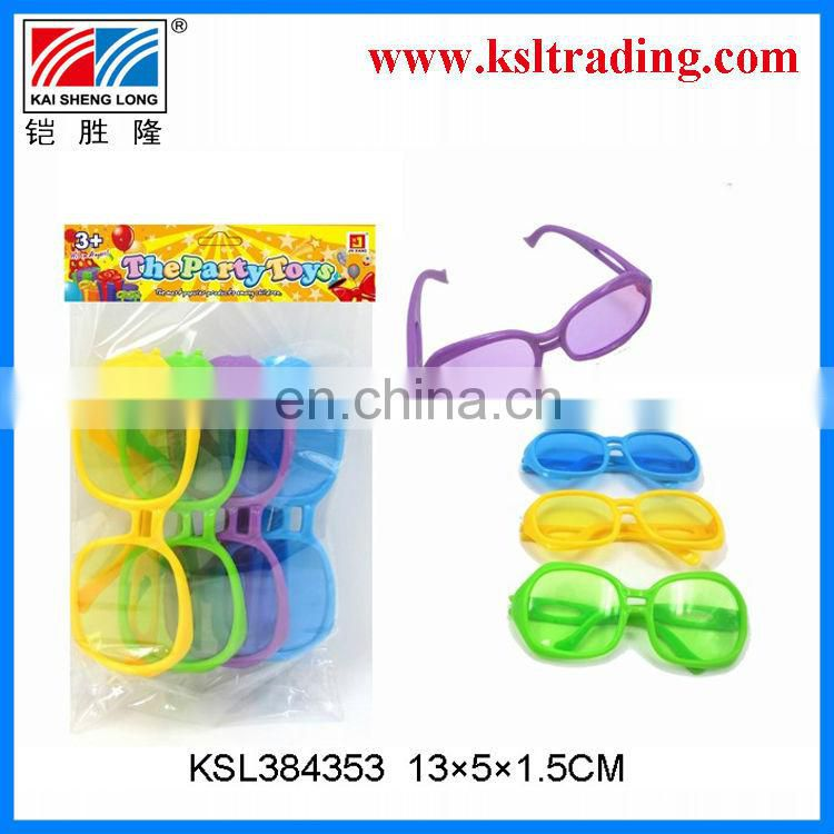 Promotional toy plastic children glass toy(3pcs)