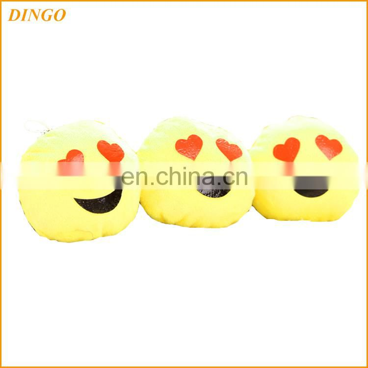 yellow cute emoticon plush emoji pillow with facial expression,lovely pillow for bus/train/plane/car