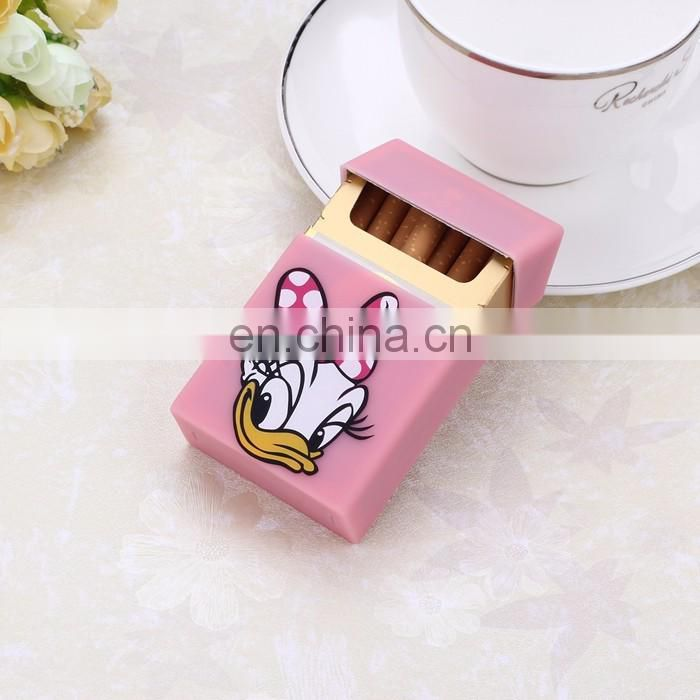 Exceptional Quality Custom Design colorful silicone waterproof cigarette case