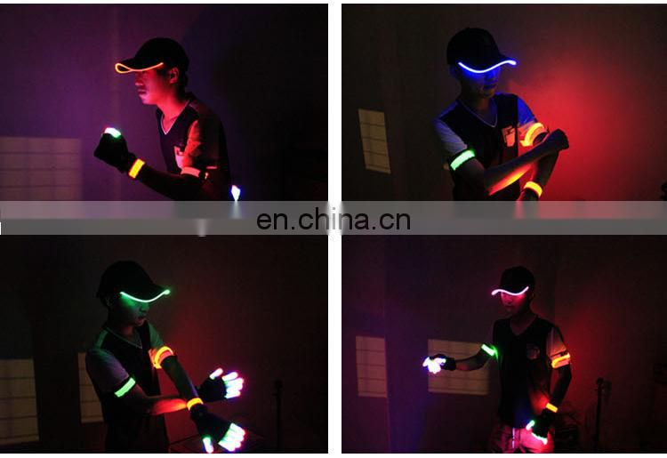 Custom 2016 Promotional Light Up Hat,Led Light Hat,Flashing Led Hat With Logo Printing