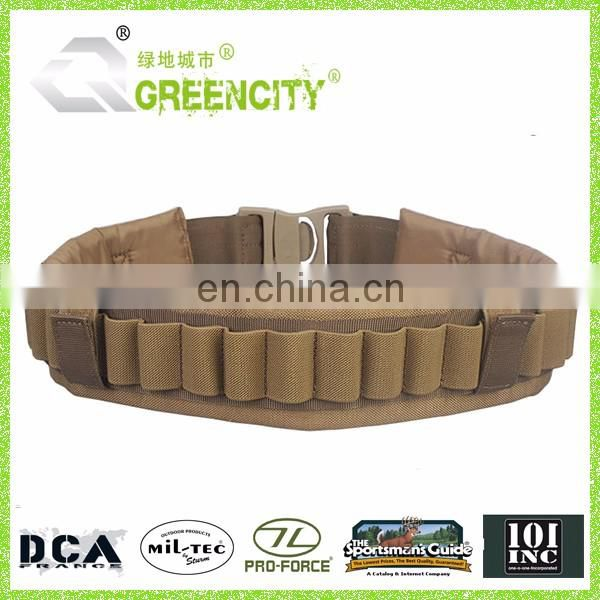 Army hunting belt camo military bullet belt