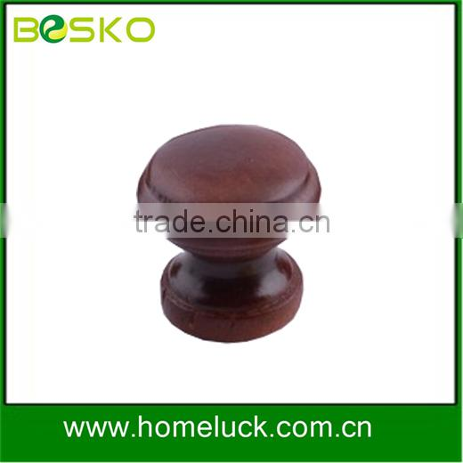 chinese pine knobs brown round wooden drawer knobs supplier