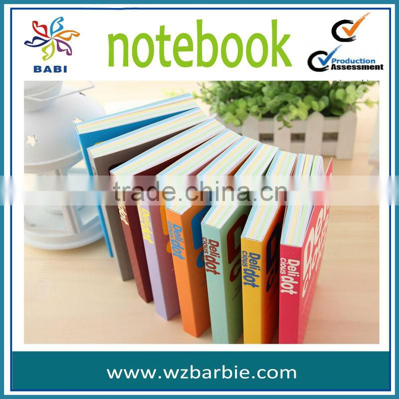 colorful paper notepad