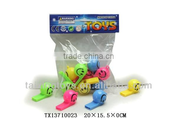 Cheap Plastic World Cup Whistle Toys for promotional toys