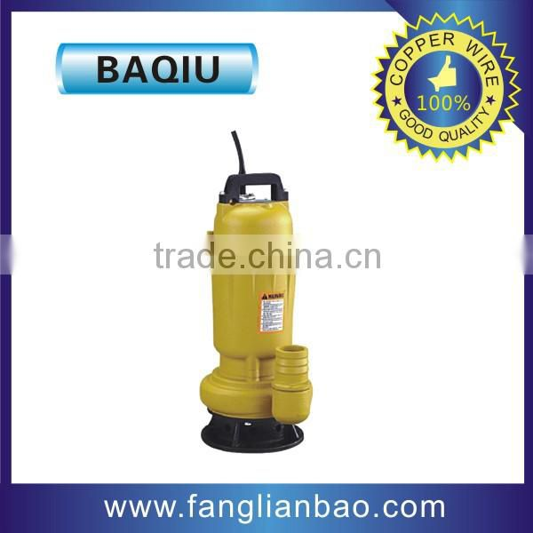 high life 2 inch WQD series submersible water sewage pumps