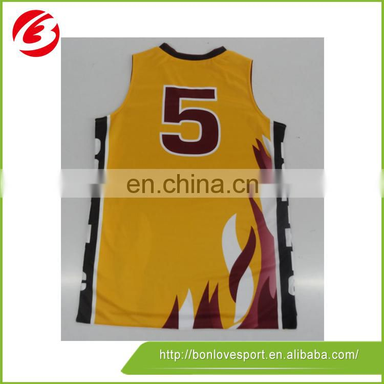High Quality Top Selling Design Basketball Jersey Basketball Uniform