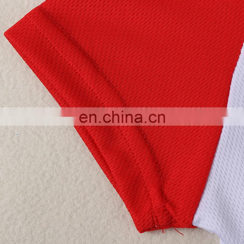 Factory Wholesale Round-neck Sublimation Sports Blank Mesh T-shirt for Men