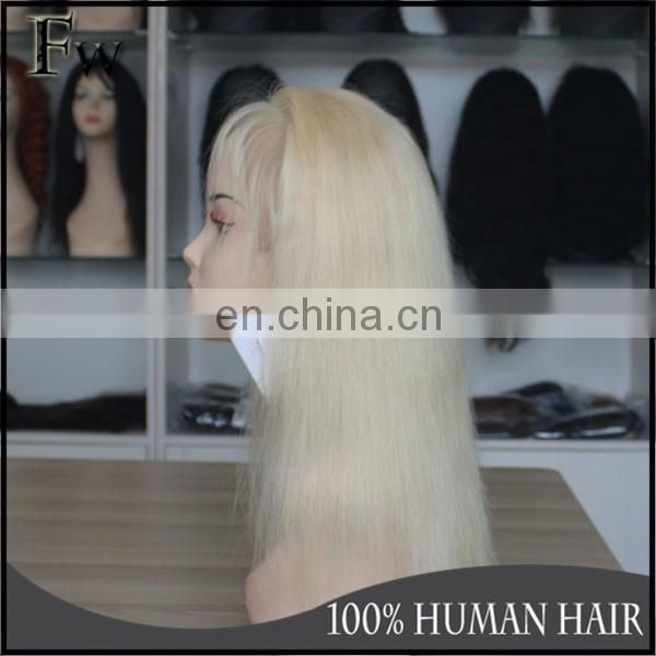 Most popular human hair extension 613 blonde wig