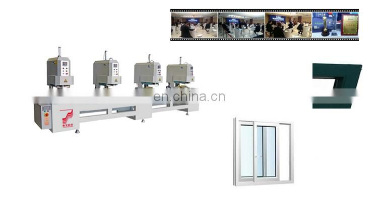 1 or 2 3 4 - head seamless welding machine railway tools supplies doors and windows with cheap price
