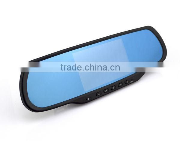 Chelong Factory 5.0inch Android 4.0.4 Dual Lens 120deg Wifi G-sensor GPS auto parts car rearview mirror monitor