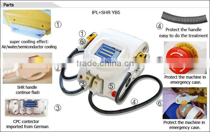 10% DISCOUNT best effective 2 IN 1 omnilaser - shr with CE/TUV