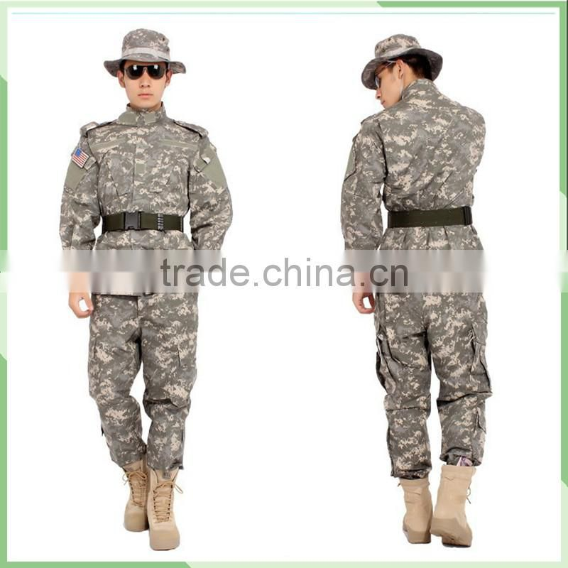 China alibaba high quality army combat uniform !