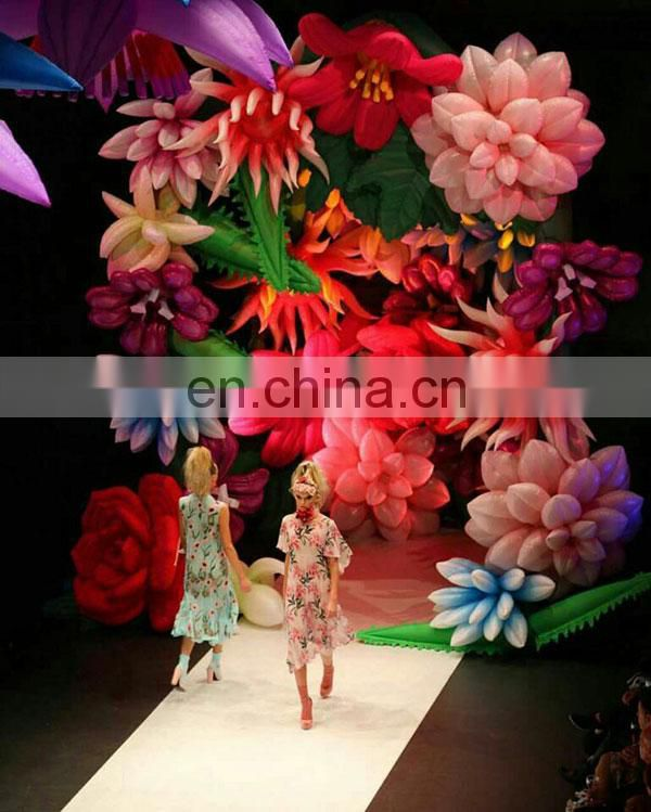 commercial christmas decorations inflatable flower for event