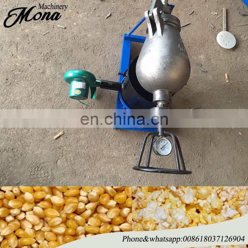 mini household popcorn maker electric old fashion hot air popcorn machine