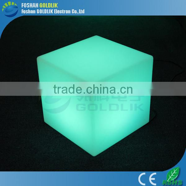 Color change good atmosphere led cube lamp GKC-040RT