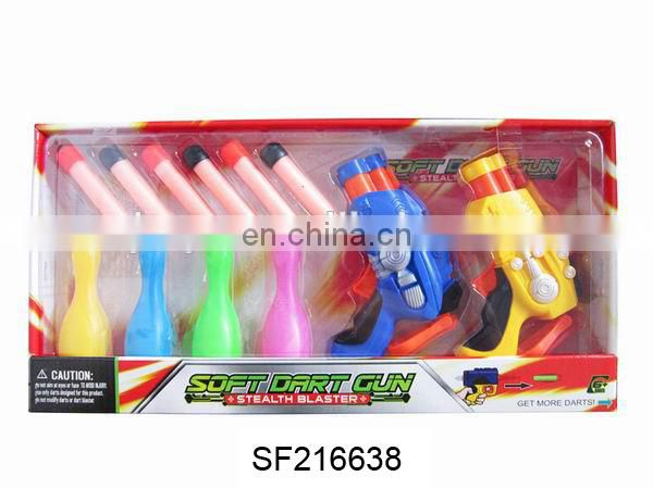 WHOLESALE SOFT BULLET GUN. SHOOT GUN WITH TARGET.EVA BULLET .AIR GUN