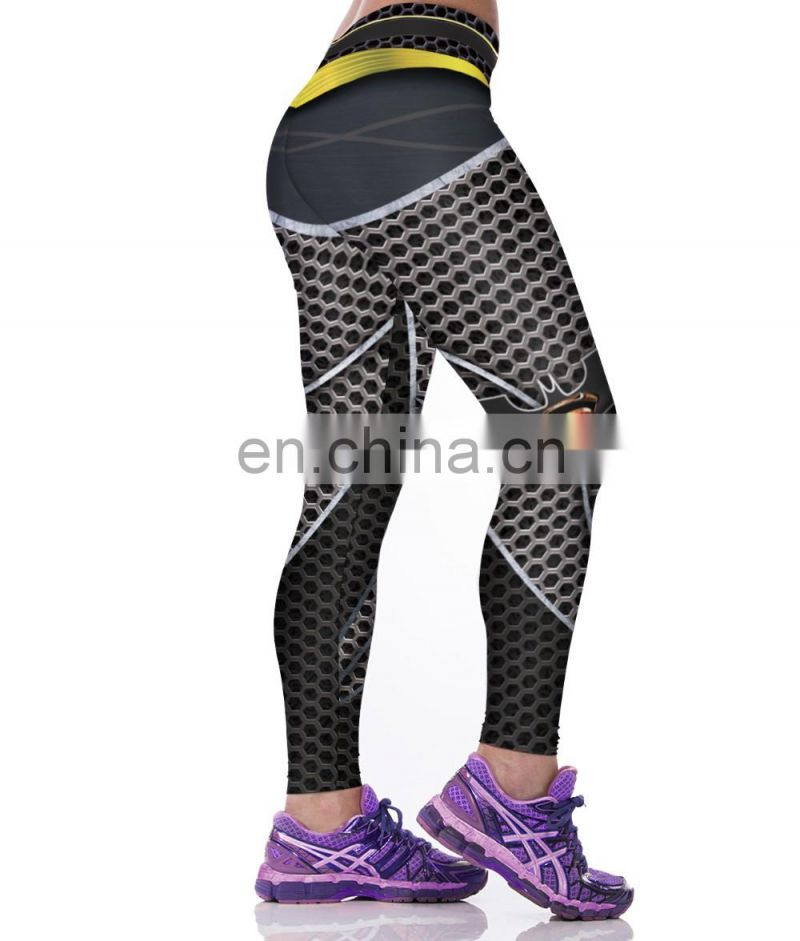 3d Printed Leggings High Waist Sportswear Women Fitness leggings
