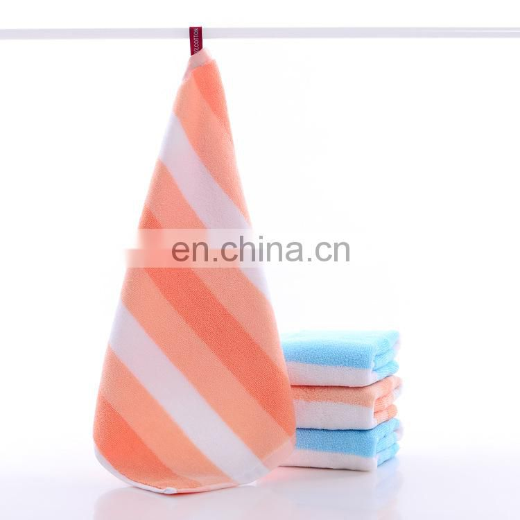 Wholesale custom 100% cotton baby hand towel