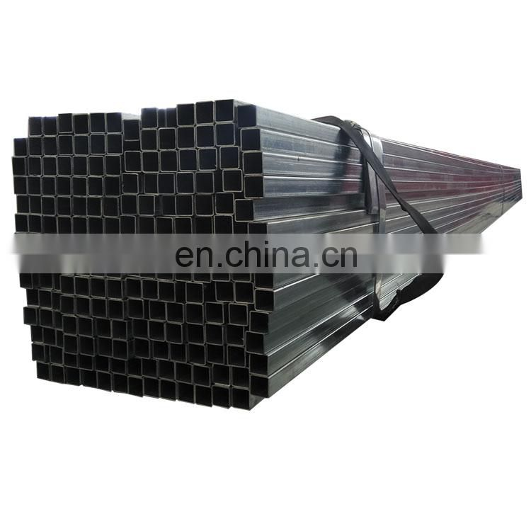 building material gi welded square steel tube galvanized erw square tube