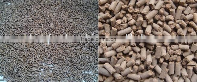 Farm Machinery Full Automatic Electrical Motor Wood Pellet Making Machine/animal Feed Pellet Machine 0086-13283896221