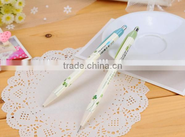 Japanese and Korean four Leaf Clover mechanical pencils