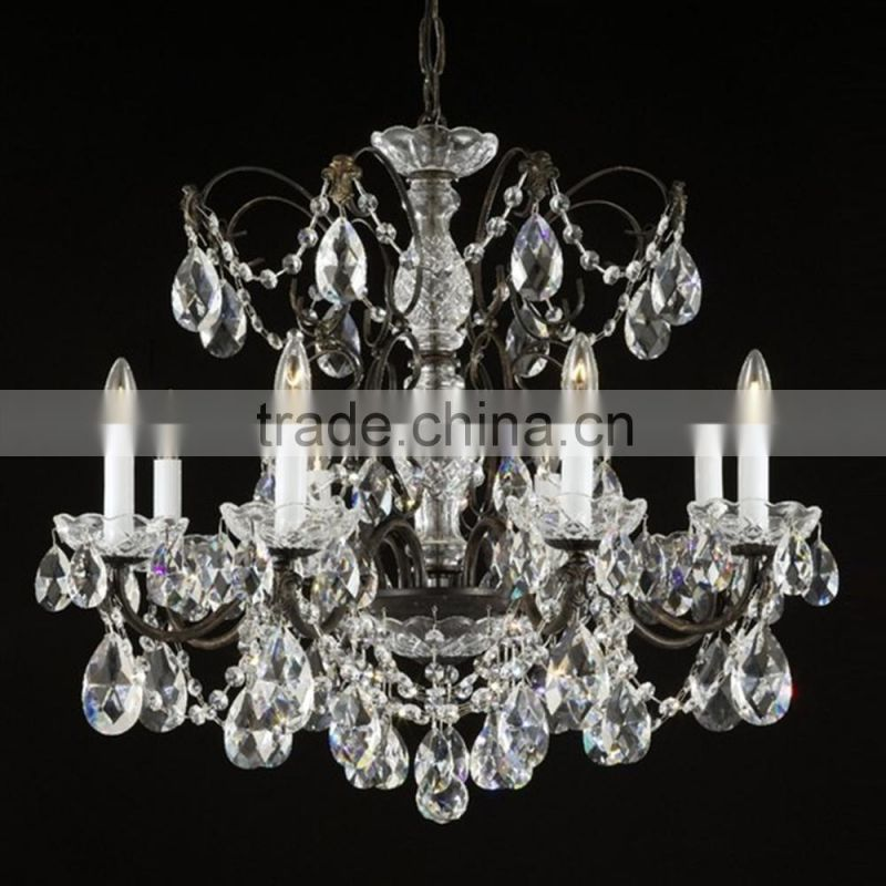 crystal galss wedding chandelier for decoration