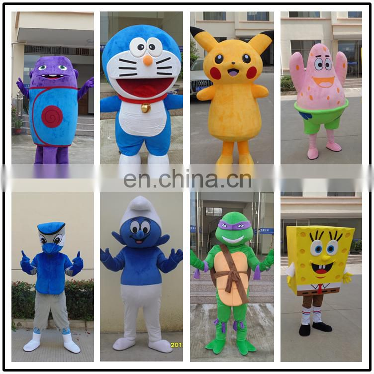 2017 soft plush customized holiday elephant stage show maocot costume for sale