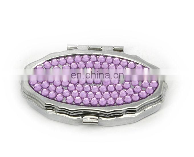 Factory supply Metal pill box wholsale decorative pill box crystal pill box