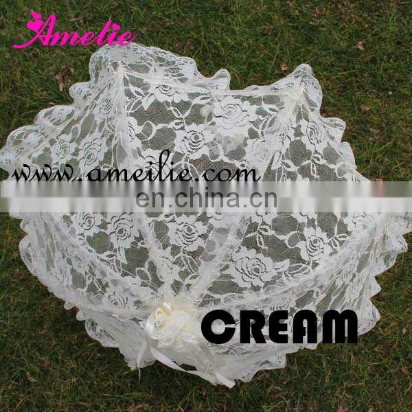 A0207 Ivory Lace Umbrella for Wedding