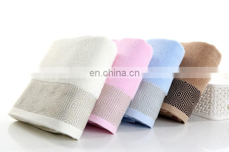 Low-Priced Extra-Absorbent 32S/2 100% Cotton Bath Towel