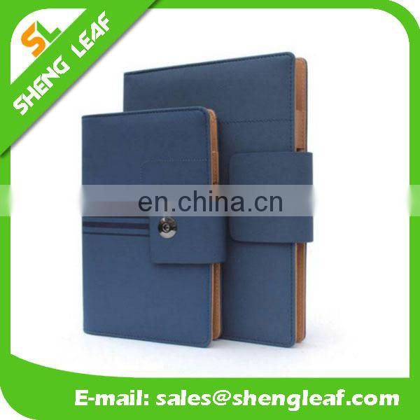 New fancy hot sale handmade lovely decorate leather notebook cover