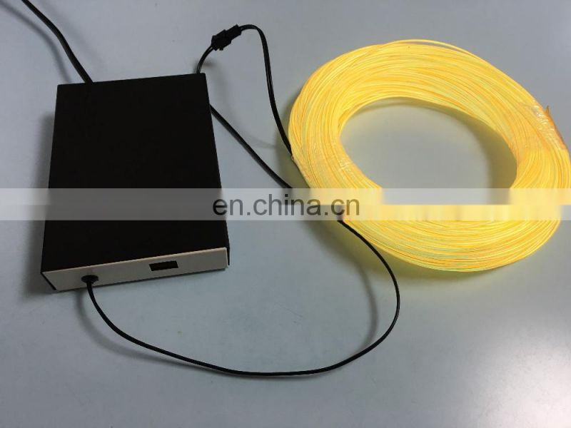 10% off super bright electroluminescent wire/el wire/ el cable for DIY application