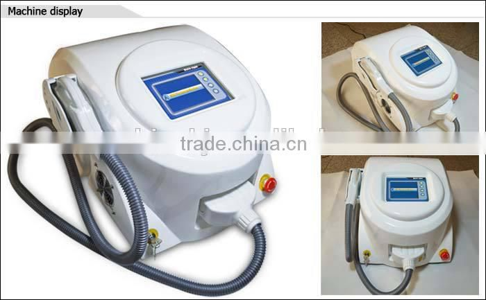 best effect shr opt hair removal machine/permanent hair removal/professional hair removal machine